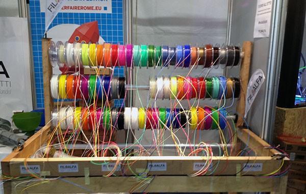 Maker Faire Rome 2015 Filamenti