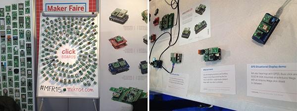 Maker Faire Rome 2015 Mikroe