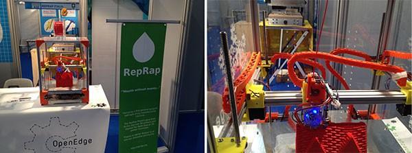 Maker Faire Rome 2015 RepRap