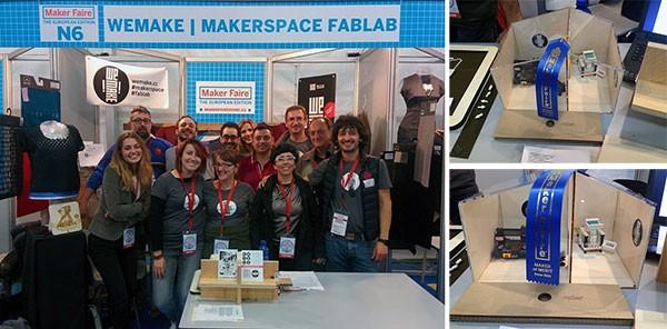 Maker Faire Rome 2015 WeMake