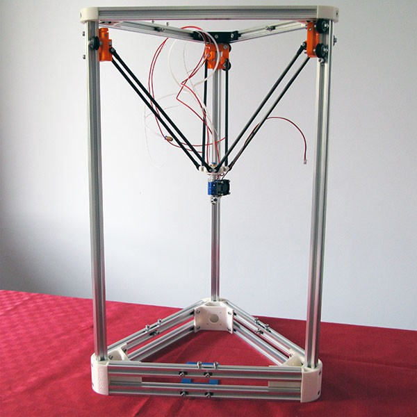 Delta 3d printer K250 Struttura delta bracci montati