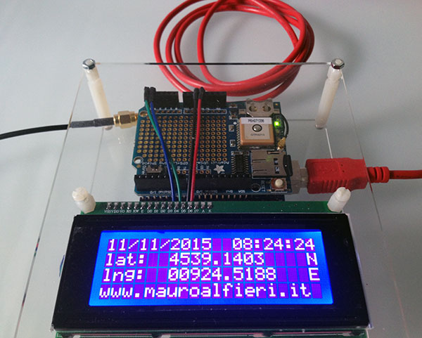 Arduino gps tracker kit robotics d