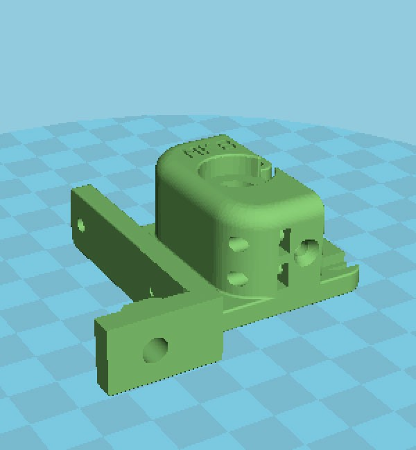 compact bowden extruder cura
