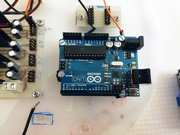 Albero Robot ArduinoUnoR3