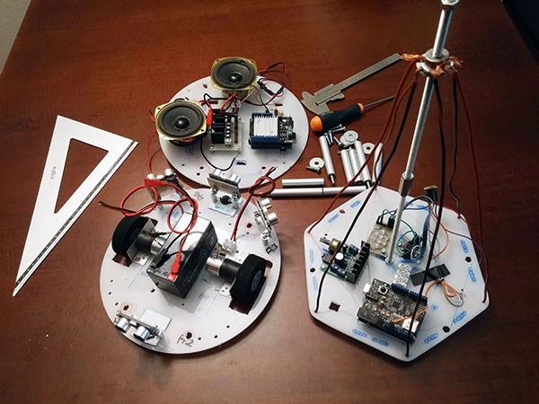 Albero Robot montaggio 1