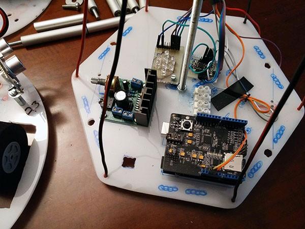 Albero Robot montaggio 5