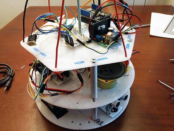 Albero Robot montaggio 6