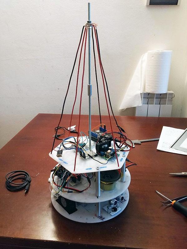 Albero Robot montaggio 7