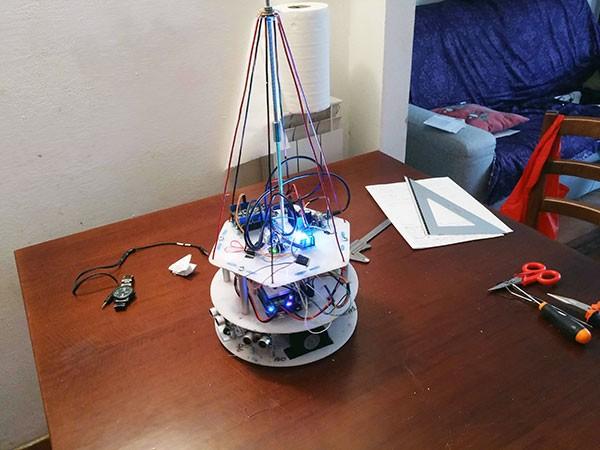Albero Robot montaggio 8