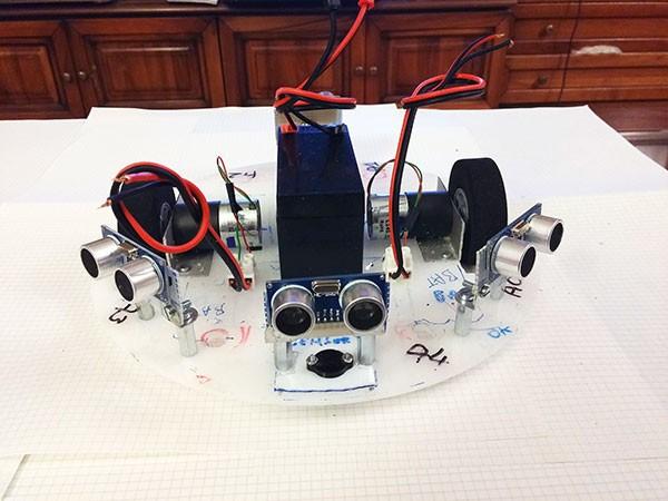Albero Robot pannello base