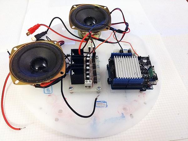 Albero Robot pannello superiore