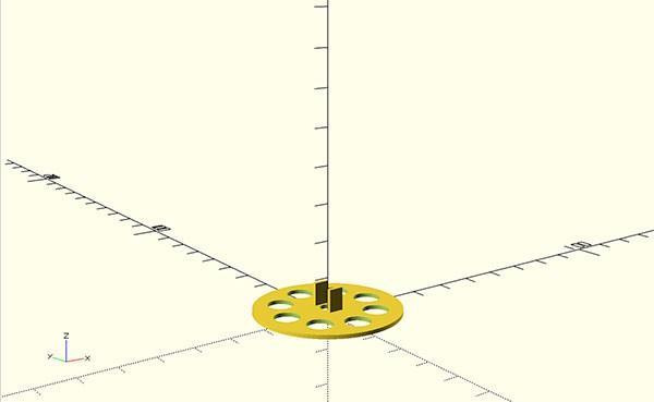 wires dispenser 3d print internal top