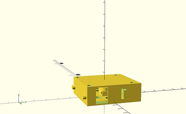 wires dispenser 3d print mount front