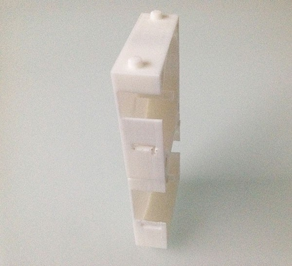 wires dispenser 3d printed assembled