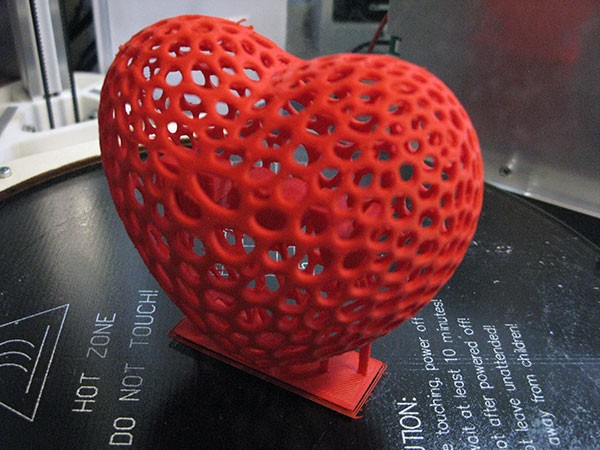 3D Heart San Valentino complete