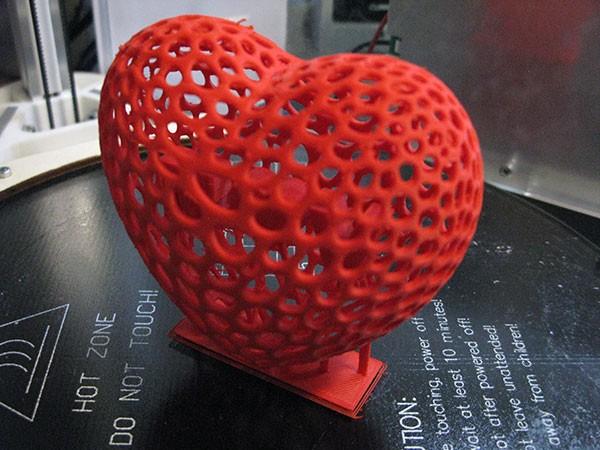 3D Heart San Valentino complete