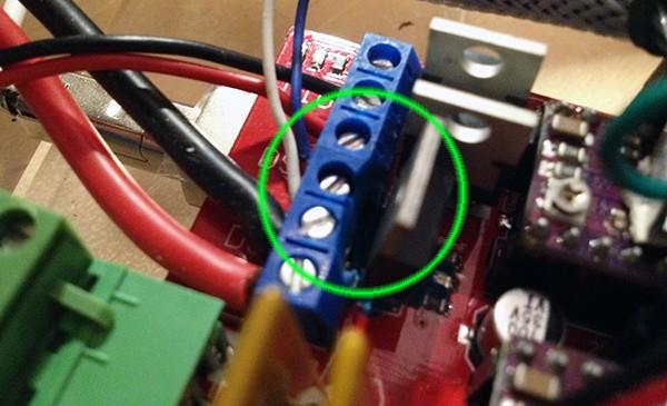 Kossel fan RAMPS mount correction