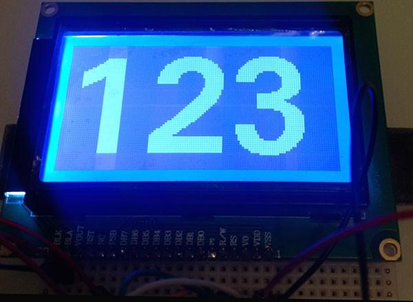 ST7920 Serial u8glib 123