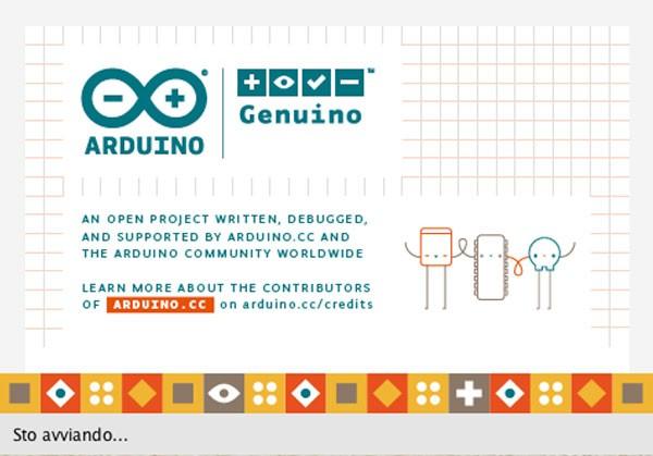 Arduino IDE 1.6.8 start