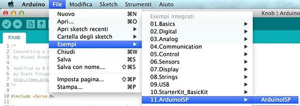 AtTiny85 Program genuino sketch ISP