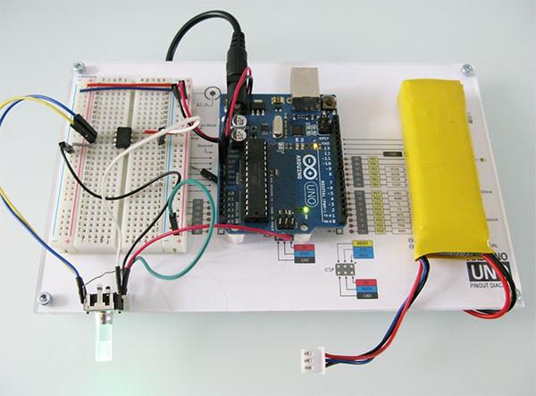 Attiny85 Encoder light