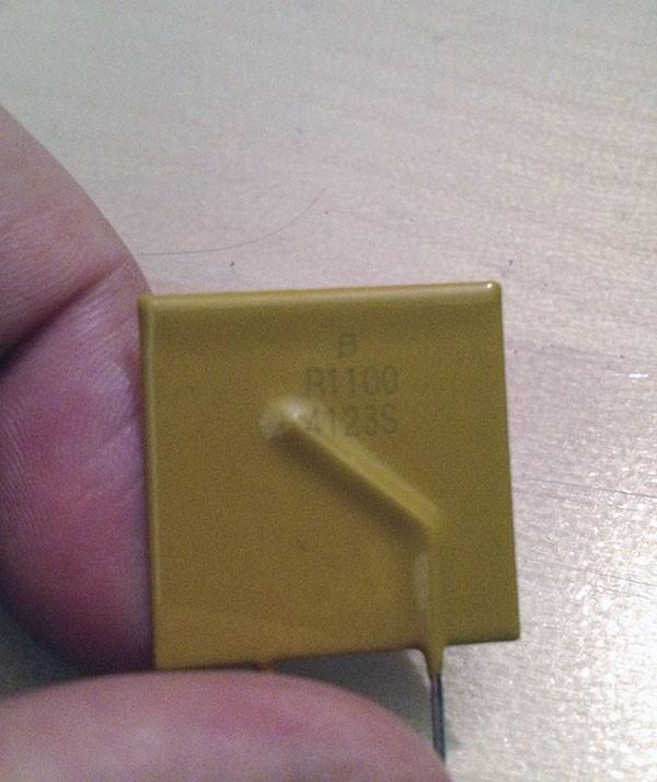 Ramps sostituzione MF R1100 componente