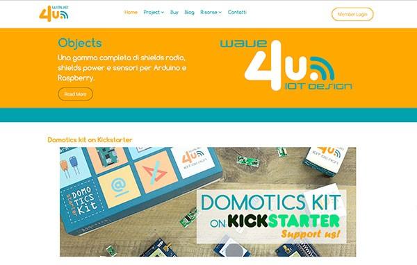 wave4u Homepage