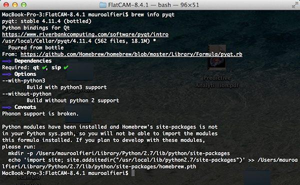 FlatCam PyQt4 info