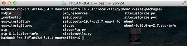FlatCam PyQt4 usr library path