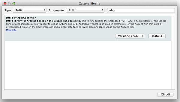 arduino cloud library version