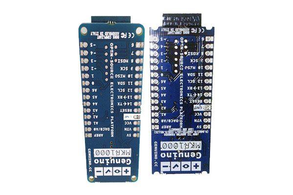 Caratteristiche MKR1000 retro pins