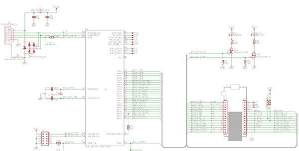Caratteristiche MKR1000 schema
