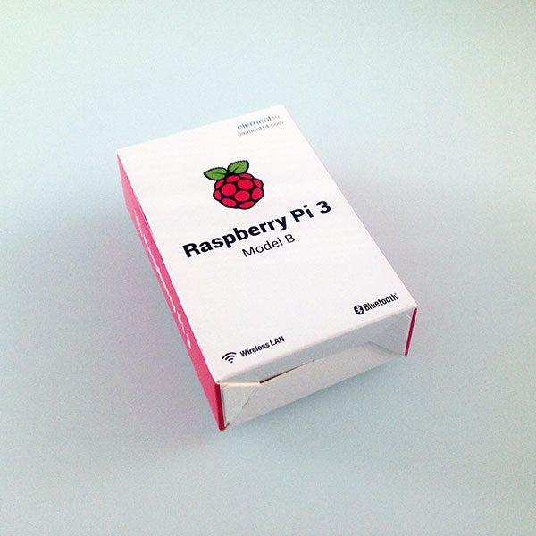 Raspberry Pi 3 é arrivata