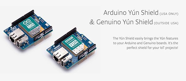 Arduino e Genuino Yún Shield image