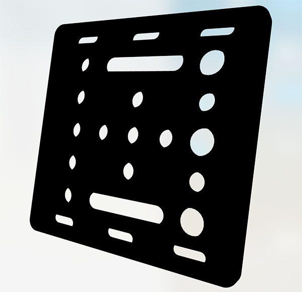 openbuilds gantry plate 20mm V Slot STL