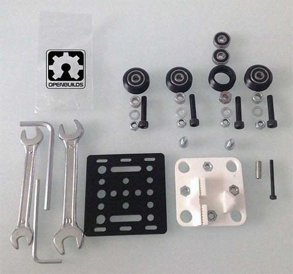 openbuilds gantry plate v2 components