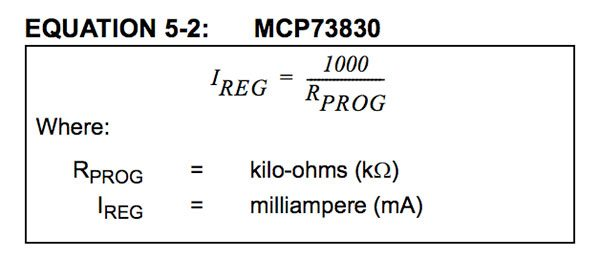 MKR1000 LiPo Charger equation