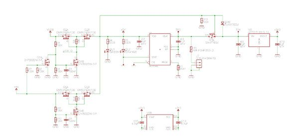 MKR1000 LiPo Charger schematic