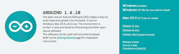Arduino IDE 1.6.10 new release
