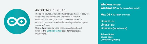 Arduino IDE 1.6.11 new release