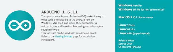 Arduino IDE 1.6.11 new release