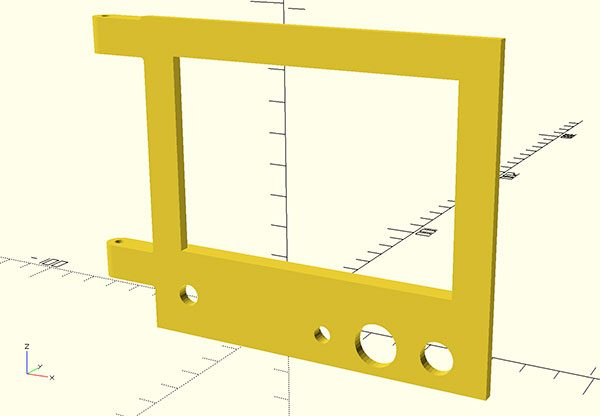prusa i3 glcd front panel