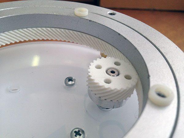 assembla ingranaggio stampa 3d particolare