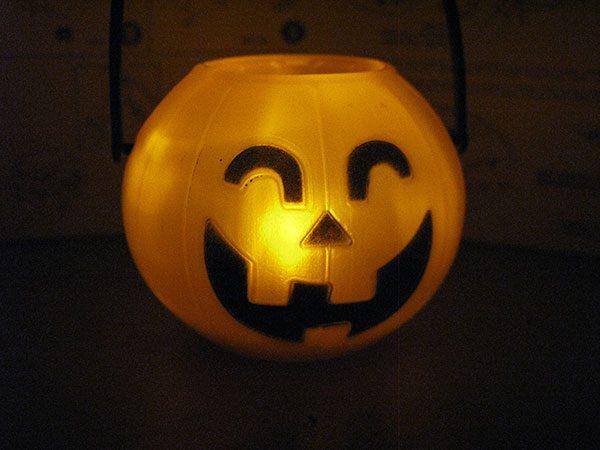 happy halloween black
