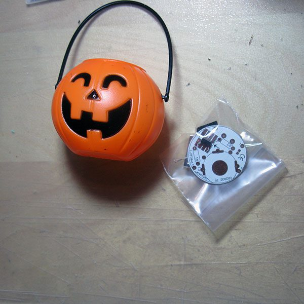 halloween list of components
