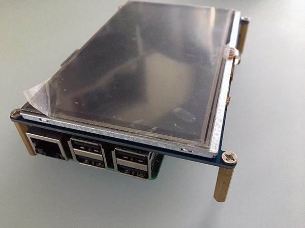 5inch touch screen raspberry pi usb port