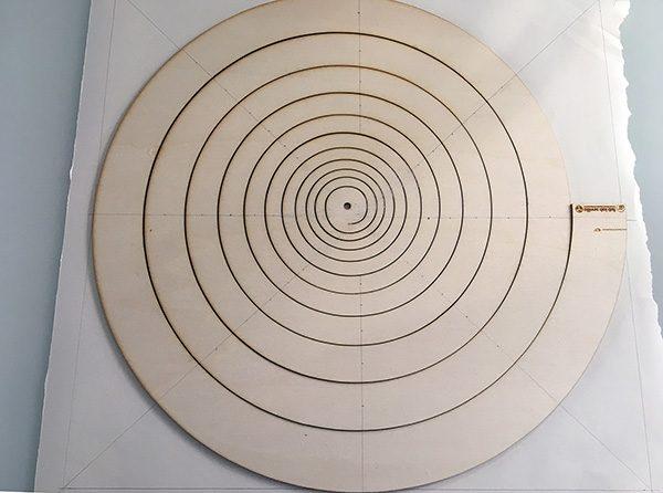 albero di natale spirale thingverse disegno linee luce