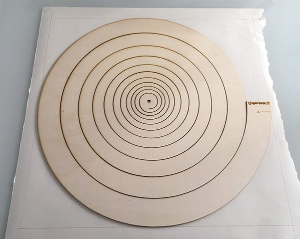 albero di natale spirale thingverse disegno posizione