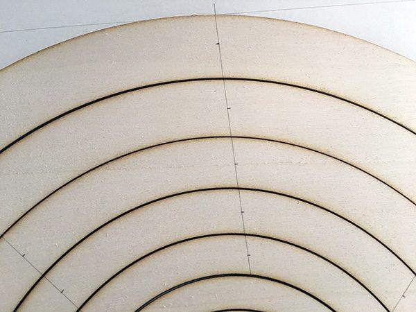 albero di natale spirale thingverse disegno punti luce
