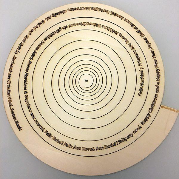arbol de navidade spiral thingverse spirale